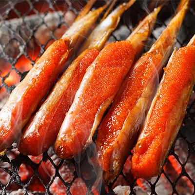 明太子柳葉魚 10支入