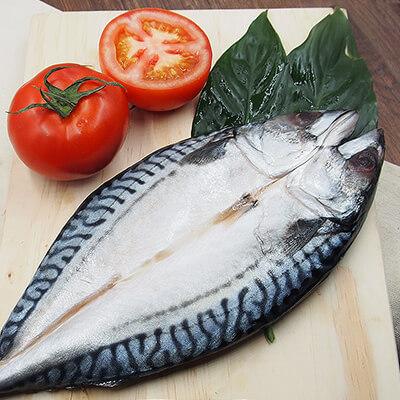 整尾挪威薄鹽鯖魚