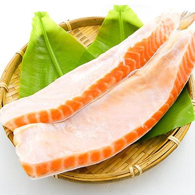 超寬版鮭魚腹肉 1kg(免運)