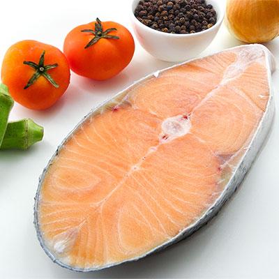 鮭魚片厚切 200g