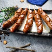 鮭魚香腸5條裝(300g/包)