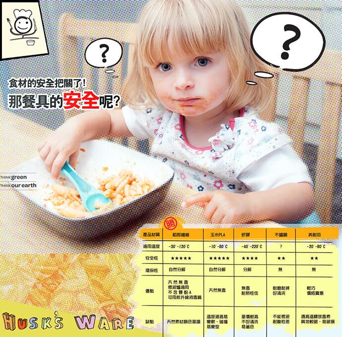 美國Husk'sWare 稻殼餐具(五件組)-水蜜桃